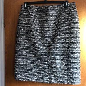 DKNY Tweed Skirt